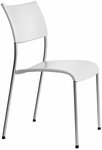 Open End Molded Back and Seat Stack Chair [OE12000-FS-DV]