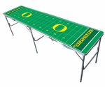 Oregon Ducks 2'x8' Tailgate Table [TPC-D-OREG-FS-TT]
