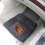 Oregon State University Vinyl Car Mat 2 Pc 18'' x 27'' [9952-FS-FAN]