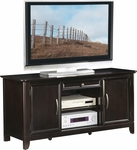 OSP Designs 54'' Claremont TV Stand with Storage Shelves and Drawer - Espresso [TV3254NES-FS-OS]