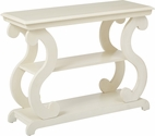 OSP Designs Ashland Console Table - Antique Beige