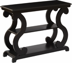 OSP Designs Ashland Console Table - Brushed Black