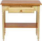 OSP Designs Country Cottage Foyer Table with Drawer and Storage Shelf [CC07-FS-OS]
