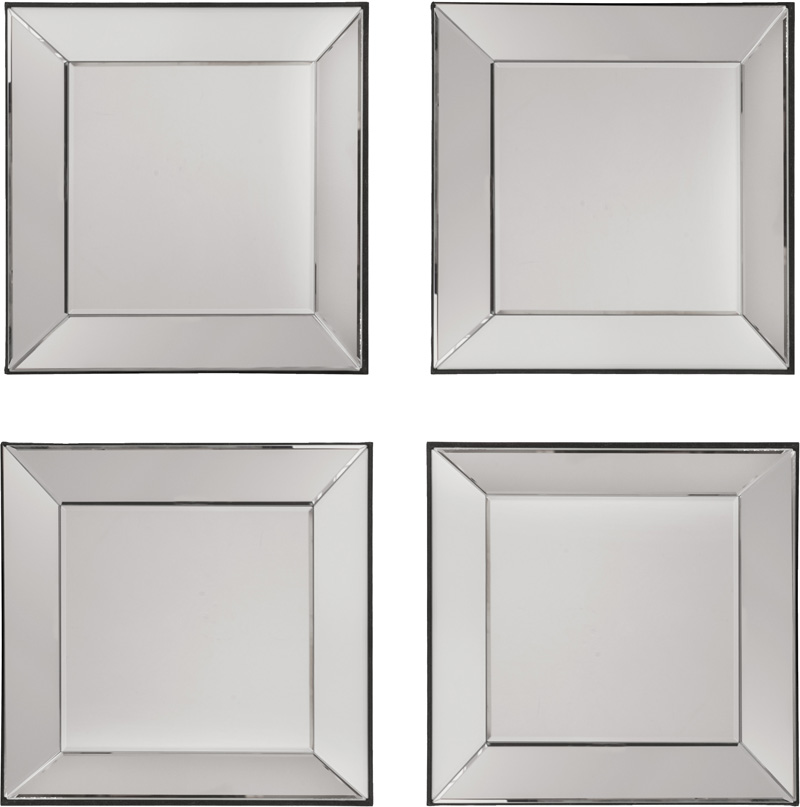 Osp Designs Time Square 4 Piece Wall Mirror Set Sh9359 By Office Star Products Bizchair Com