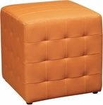 OSP Designs Detour 15'' Mesh Multi Function Cube Ottoman - Orange [DTR15-18-FS-OS]