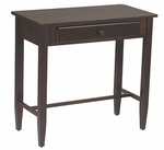 OSP Designs Foyer Table with Storage Drawer - Espresso [ES07-FS-OS]