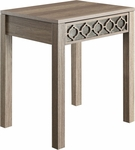 OSP Designs Helena End Table - Greco Oak [HLN09-GK-FS-OS]