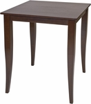 OSP Designs Jamestown Pub Table with Tapered Legs - Espresso [JT432-FS-OS]