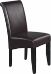 OSP Designs Eco Leather Metro Parsons Dining Chair - Espresso [MET86ES-FS-OS]