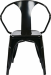 OSP Designs Patterson 30'' Metal Chair - Set of 2 - Black [PTR2830A2-3-FS-OS]