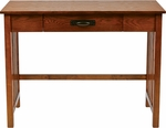OSP Designs Sierra Wood Mission Style Writing Desk - Ash [SRA25-AH-FS-OS]