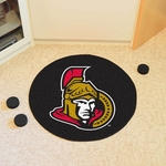 Ottawa Senators Puck Mat 27'' Diameter [10277-FS-FAN]