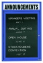 Outdoor Enclosed Directory Boards