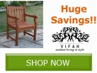 Save up to 40% off Select Outdoor Furniture from by