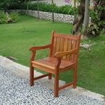 Outdoor Wood Arm Chair [V209-FS-VIF]