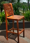 Outdoor Wood Bar Chair [V495-FS-VIF]