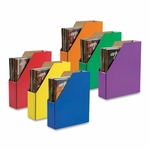 Pacon Magazine Holder - 12 -3/8'' x 3 -1/8'' x 10 -1/4'' - Assorted [PAC001327-FS-SP]