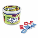 Pacon Magnetic Alphabet Letters -Foam - Upper Case - 2'' - 108 Ct. [PAC27560-FS-SP]