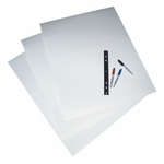Pacon Poster Board - 4 -Ply - 22'' x 28'' - 2 -Sided - 25/CT - White [PAC104159-FS-SP]