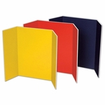 Pacon Presentation Foam Board - Tri -fold - 48'' x 36'' - 6/CT - Assorted [PAC3868-FS-SP]