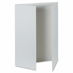 Pacon Presentation Foam Board - Tri -fold - 48'' x 36'' - 6/CT - White [PAC38636-FS-SP]