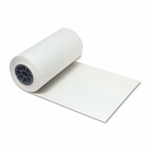 Pacon Ruled Newsprint Roll - 7/8'' Ruling - 7/16'' -12'' x 500' - White [PAC2660-FS-SP]