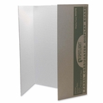 Pacon Single Walled Presentation Board -40'' x 28'' -8/CT -White [PAC3774-FS-SP]