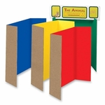 Pacon Single Walled Presentation Board -48'' x 36'' -24/ST -Assorted [PAC3765-FS-SP]