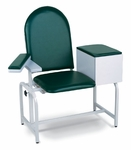 Padded Blood Drawing Chair with Drawer [2572-FS-WIN]