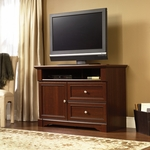 Palladia Wooden 33''H Highboy Entertainment Center with Divided Shelving - Select Cherry [411626-FS-SRTA]