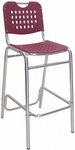 Palm Beach Collection Bordeaux Outdoor Barstool [BAL-03-BORDEAUX-FLS]