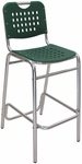 Palm Beach Collection Green Outdoor Barstool [BAL-03-GREEN-FLS]