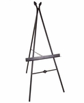 Paris 24''W x 59''H Wrought Iron Picture Easel [GMC-EASEL-2-FS-GCM]