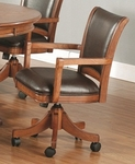 Park View Caster Game Chair [4186-800-FS-HILL]