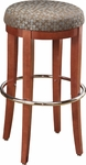 Parker Round Wood Bar Stool - Maple [88C-FS-CMF]