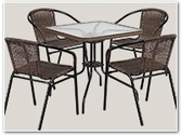 Patio Table-Chair Sets