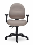 Pearl II 300 Series Medium Back Single Shift Adjustable Swivel and Seat Height Task Chair [PE211-M20-FS-SEA]