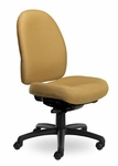 Pearl II 400 Series High Back Multiple Shift Adjustable Swivel and Seat Height Task Chair [PE310-Q30-FS-SEA]