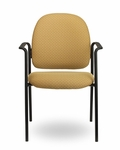 Pearl II 300 Series Multipurpose Stack Chair with Arms [PE244-FS-SEA]
