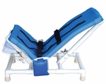 Pediatric Articulating Bath Chair with Base and Casters - Fully Adjustable [191-SC-A-MJM]