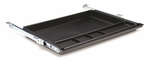 17.75'' W Slide Out Pencil Drawer with Storage Compartments - Black [ACPD01-FS-ESI]