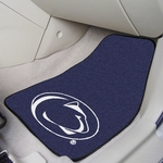 Penn State University Carpet Car Mat 2 Pc 18'' x 27'' [5296-FS-FAN]