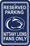 Penn State Nittany Lions 12'' X 18'' Plastic Parking Sign [50256-FS-BSI]