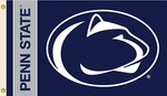Penn State Nittany Lions 2-Sided 3' X 5' Flag with Grommets [92106-FS-BSI]