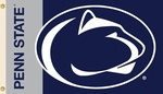 Penn State Nittany Lions 3' X 5' Flag with Grommets [95406-FS-BSI]