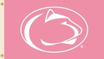 Penn State Nittany Lions 3' X 5' Flag with Grommets - Pink Design [35506-FS-BSI]
