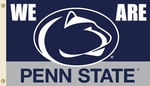 Penn State Nittany Lions 'We are' 3' X 5' Flag with Grommets [95206-FS-BSI]