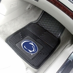Penn State University Vinyl Car Mat 2 Pc 18'' x 27'' [8957-FS-FAN]