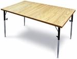Personal Height-Adjustable Activity Table - 30''W X 48''L X 26 - 34''H [HAU-4341-FS-HAUS]