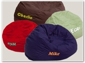 Personalized Bean Bags